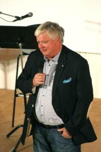 Lars Ingvar Ljungman talade varmt och positivt om Callunas 20 år.