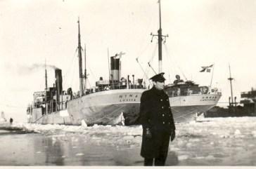 Systerfartyg genom kanalen. 1942.