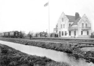 Stationen i Falsterbo på 1910-talet.