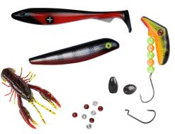 innehåll i sportfiskelådan pro med 6 produkter
