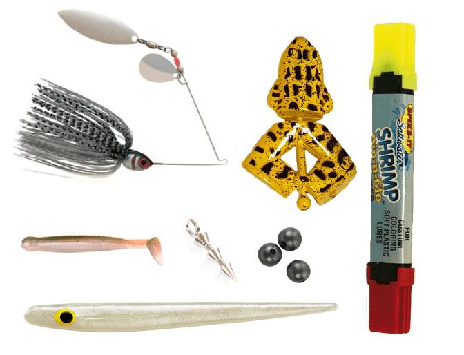 sportfiskelådan pro maj med jiggar, jiggpennar, big waller beads, och abborrejigg