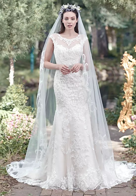Maggie Sottero Mercedes Wedding Dress The Knot