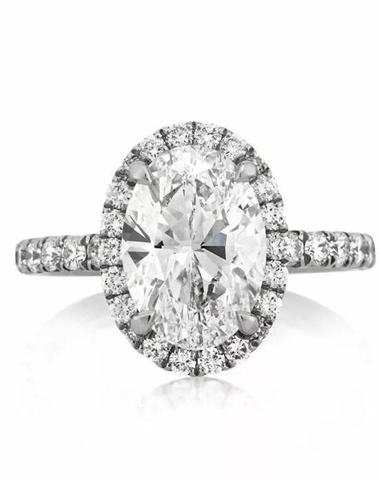 Mark Broumand 3.52ct Pear Shaped Diamond Engagement Ring