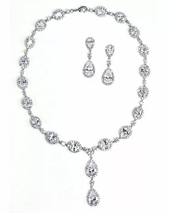 Anna Bellagio Keirsten Necklace and Earring Set Wedding