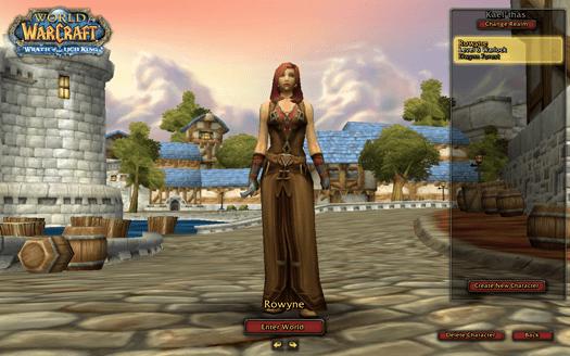 My World of Warcraft Avatar