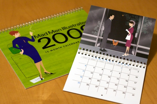 Mad Men 2009 Calendar