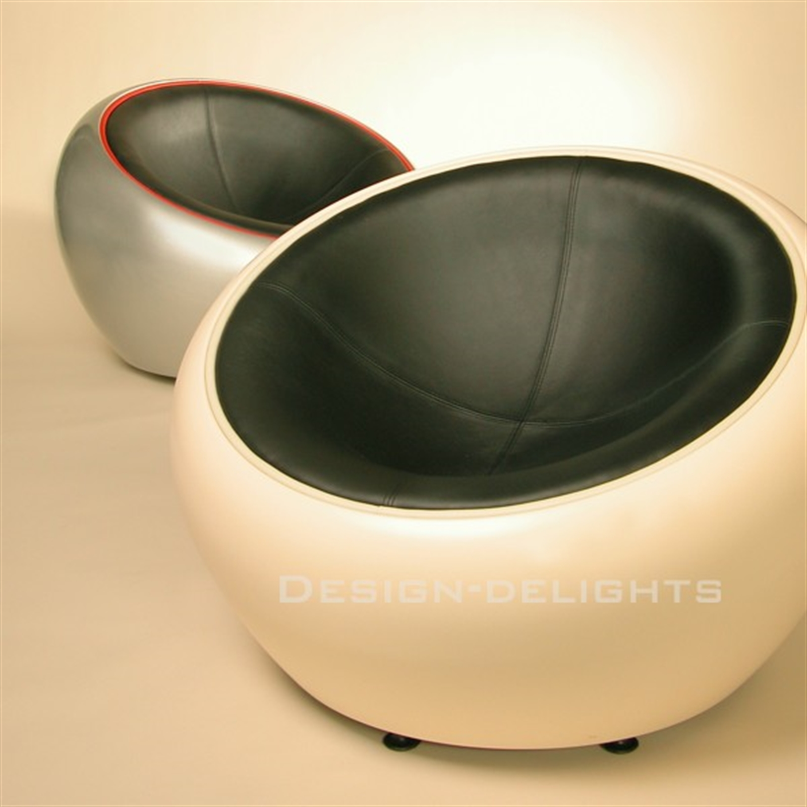 Egg Shell Chairs Design Lounge Ball Bowl Chair Space Retro Egg Stool C12