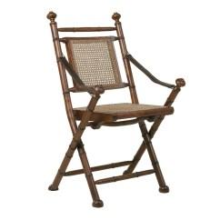 Folding Desk Chair Brushed Metal Dining Wooden Design Colonial Darkbrown