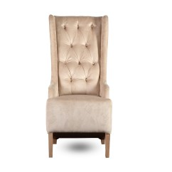 Chair Cover King York On Mid Century Recliner Padded Design Quotnew Quot Velvet Beige