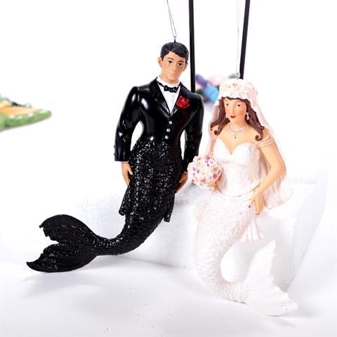 GLAMOUR NIXEN BRAUTPAAR Ehepaar zum Hngen