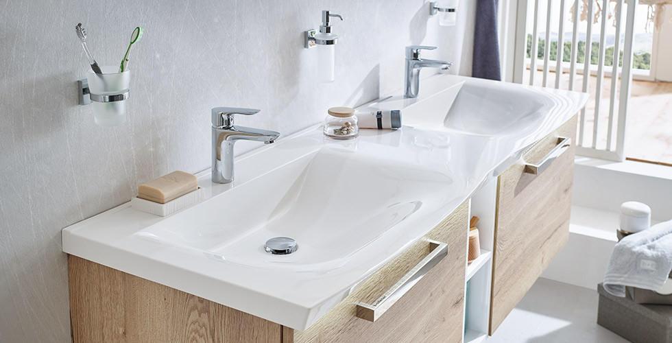 Waschbecken  Doppelwaschbecken  Kleine Handwaschbecken