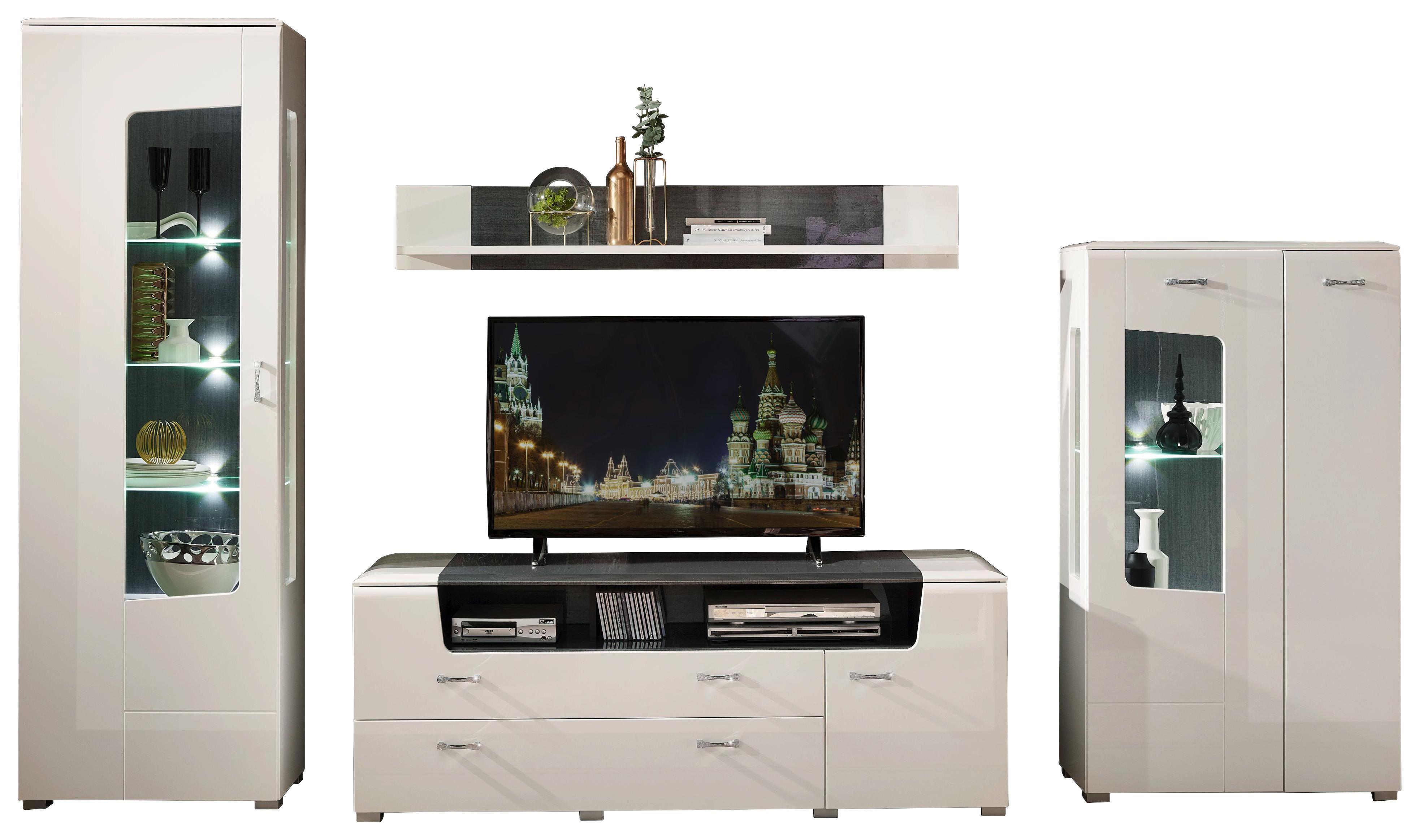 Wohnwand Chrome Wohnwände Tv Möbel Jetzt Entdecken