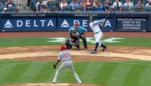 Video: Stanton takes Teheran deep