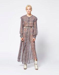 Ellie dress isabel marant etoile also long women official online store rh isabelmarant