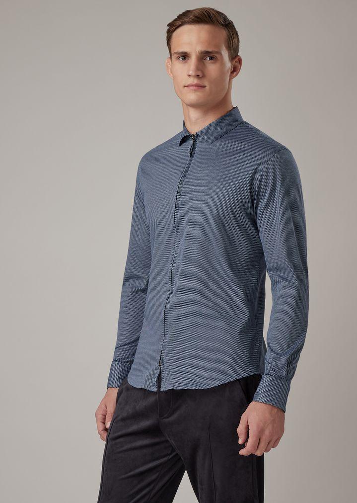 slim fit shirt in