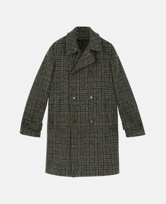 STELLA McCARTNEY MEN Men Mid Man Lance Plaid Coat c