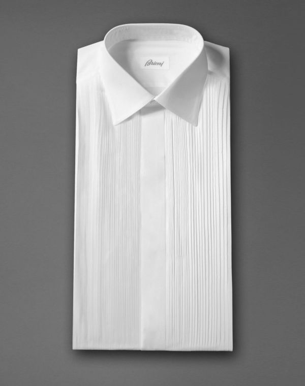 Brioni Men ' Shirt Official Online Store