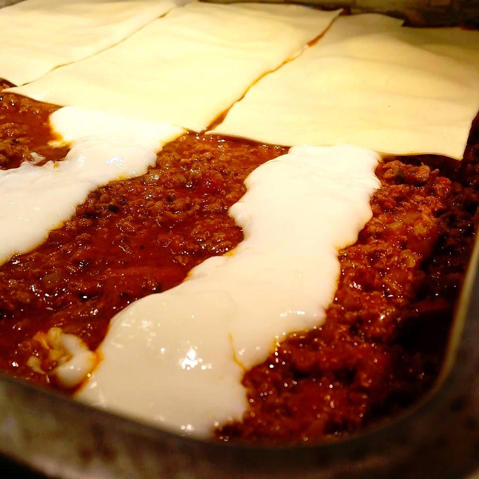 saftig lasagne recept