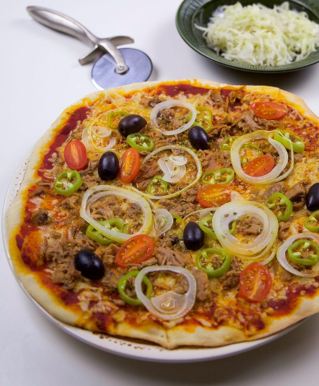 pizzadeg med durumvete