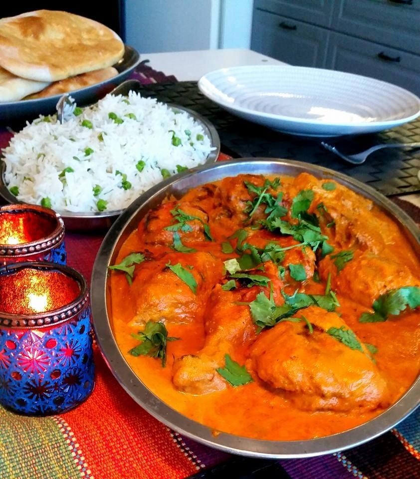 indisk mat kyckling