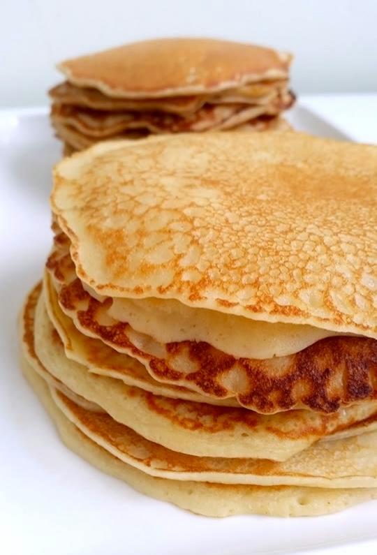 recept på pannkakor