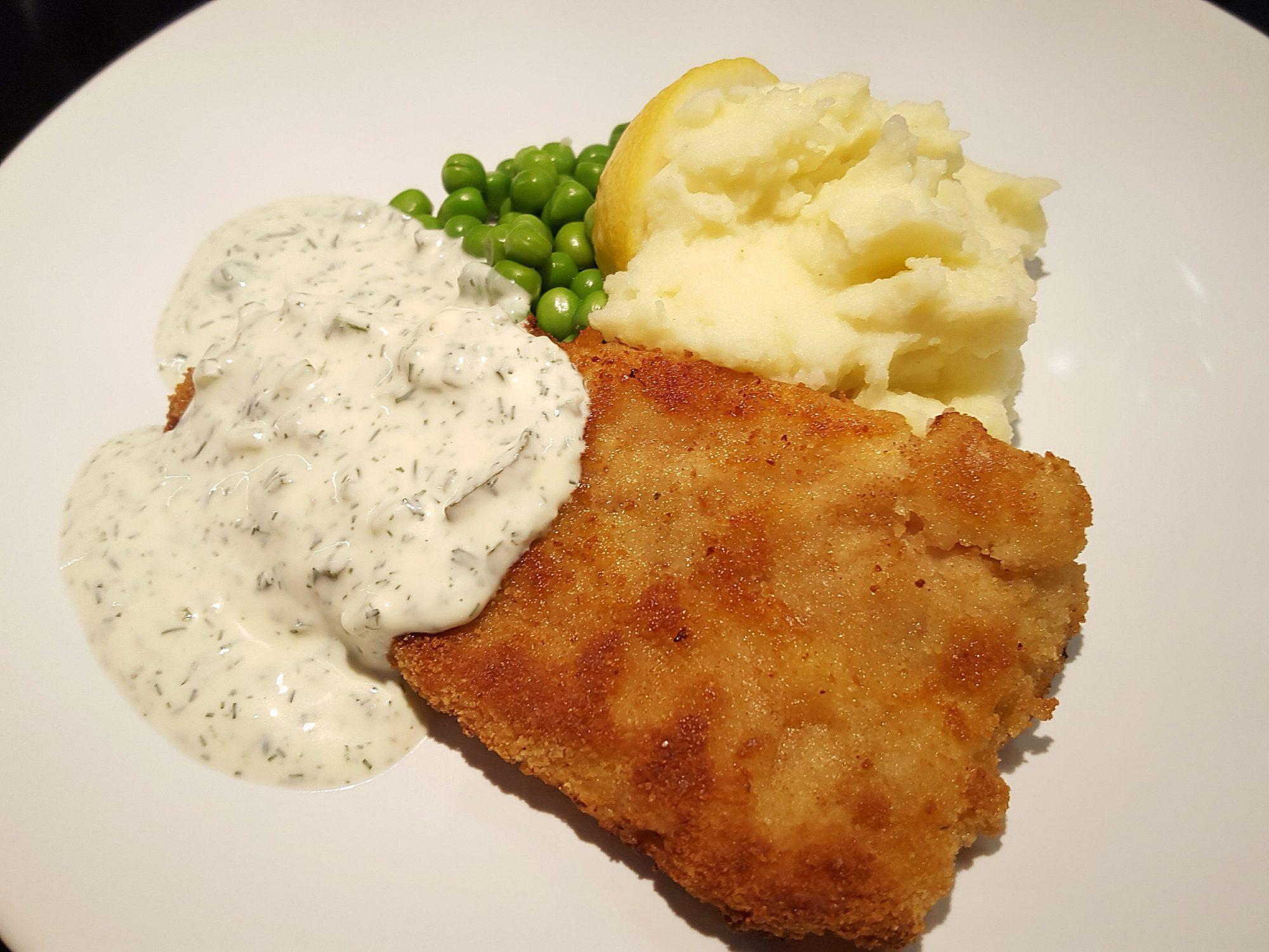 fisk med dillsås