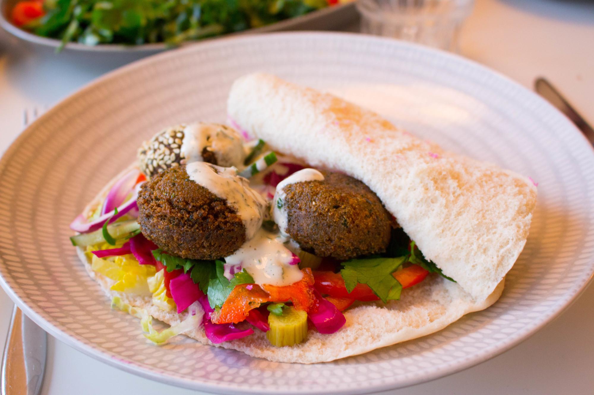 godaste falafel recept