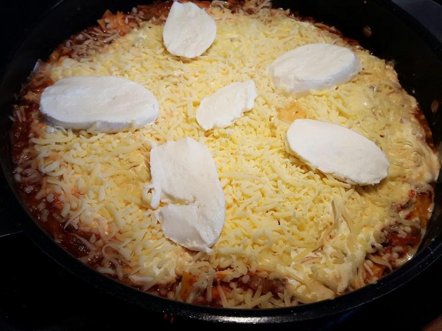 Lasagne i stekpanna