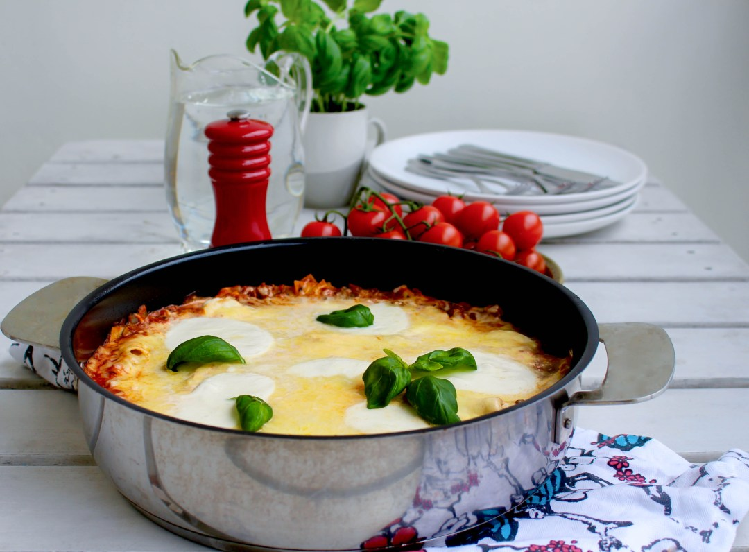 one pot lasagna