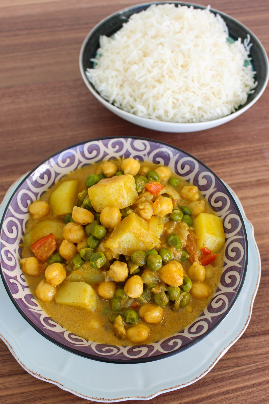 vegetarisk currygryta