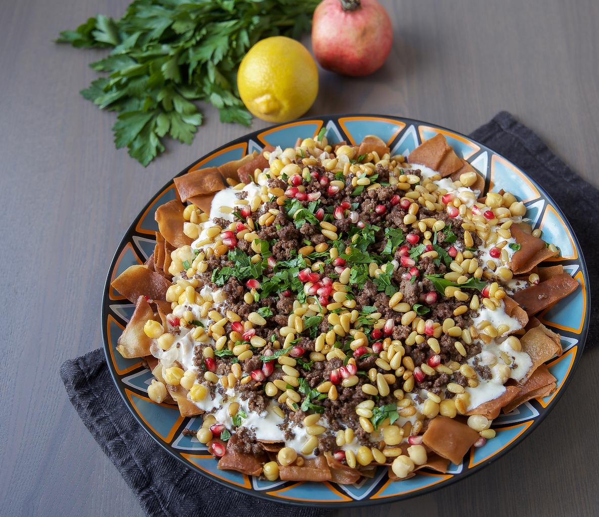 syrisk mat recept