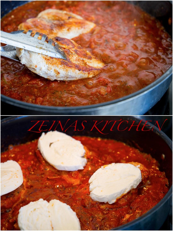 kycklingfile i tomatsås i ugn