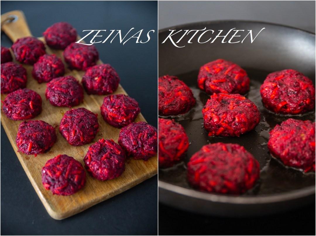 recept underbara rödbetsbiffar