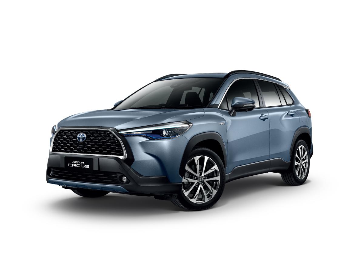 GA-C 平臺「Outdoor SUV」新成員。Toyota Corolla Cross 泰國全球首發、臺灣10月發表! - Yahoo奇摩汽車機車