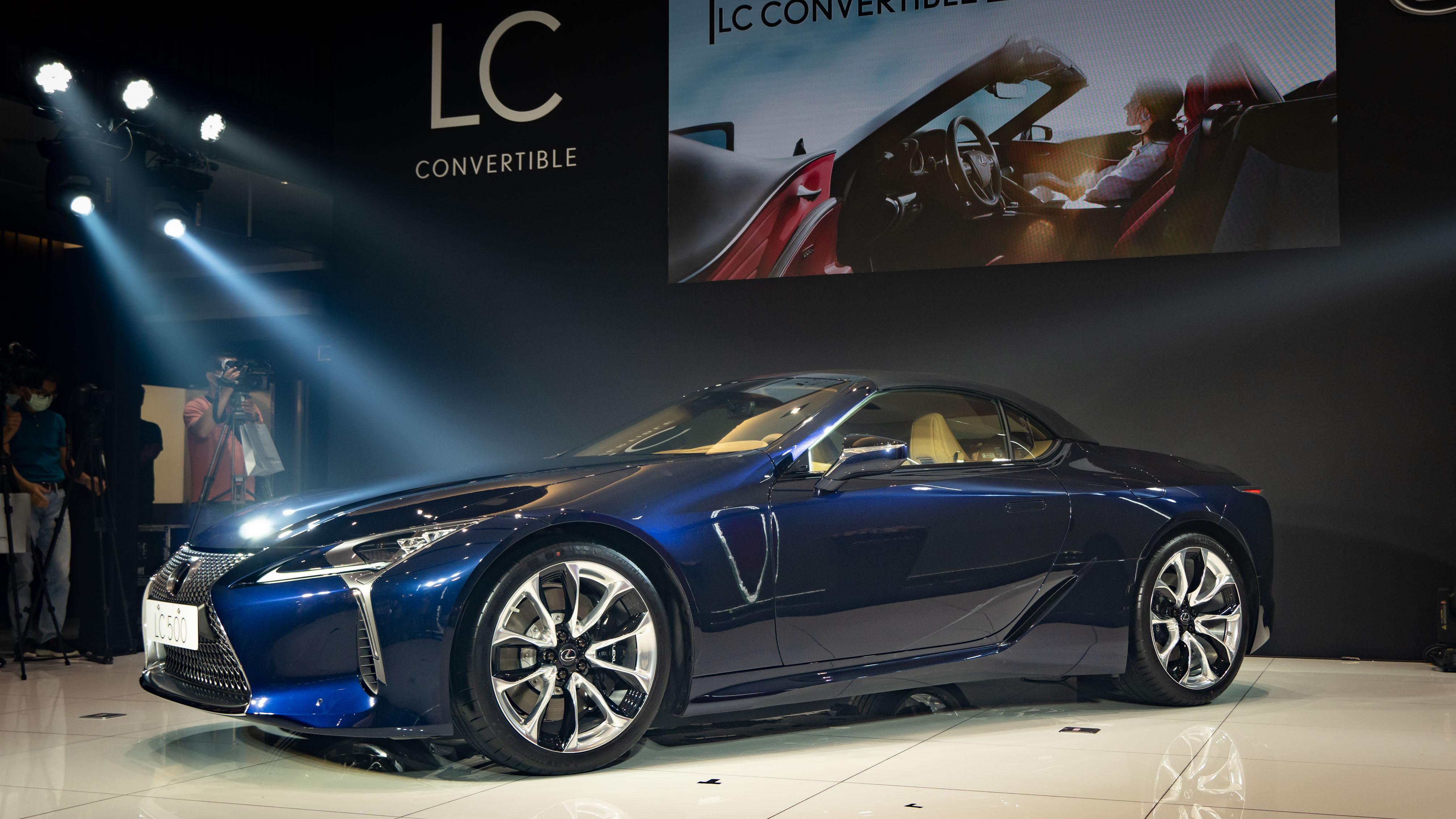 Lexus LC Convertible 敞篷 GT 588 萬起正式登場 - Yahoo奇摩汽車機車