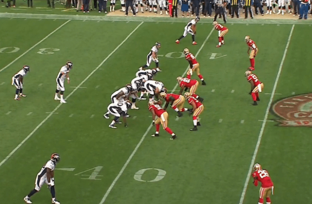 Denver Broncos break out some pistol formation plays with Peyton Manning