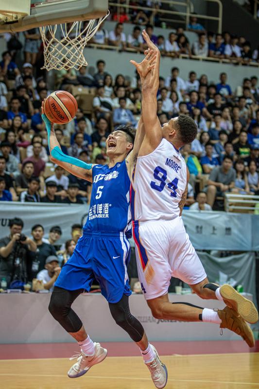 瓊斯盃男籃 中華藍不敵菲律賓(2) (圖) — 2019威廉·瓊斯盃國際籃球邀請賽專輯 - Yahoo奇摩