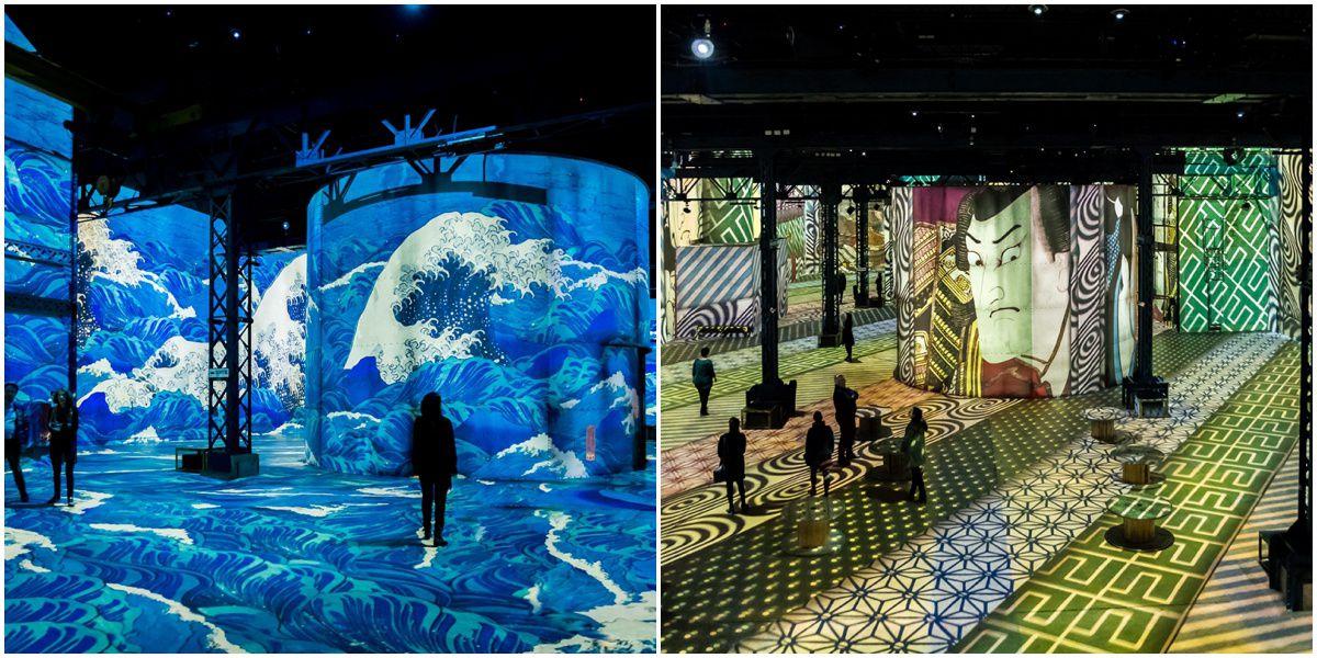 TeamLab藝術版!巴黎,濟州島都有的「光之博物館」讓經典畫作動起來,在梵谷名畫《星夜》中漫步超浪漫 ...