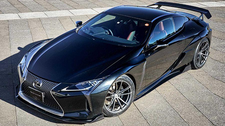 裝上寬體套件的Lexus LC宛若一輛低調的惡魔 - Yahoo奇摩汽車機車