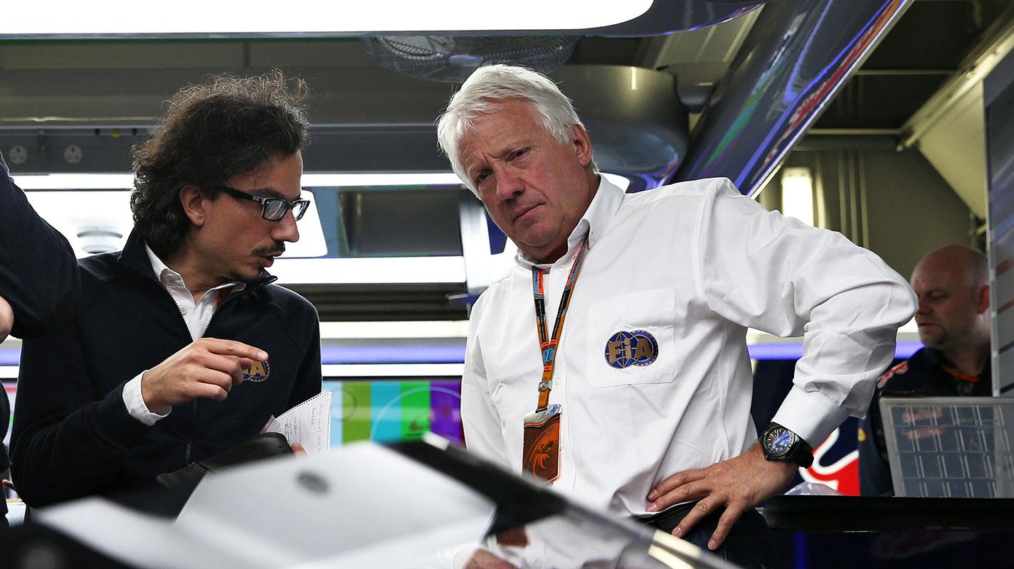 新賽季開跑前夕F1賽事總監Charlie Whiting辭世 - Yahoo奇摩汽車機車