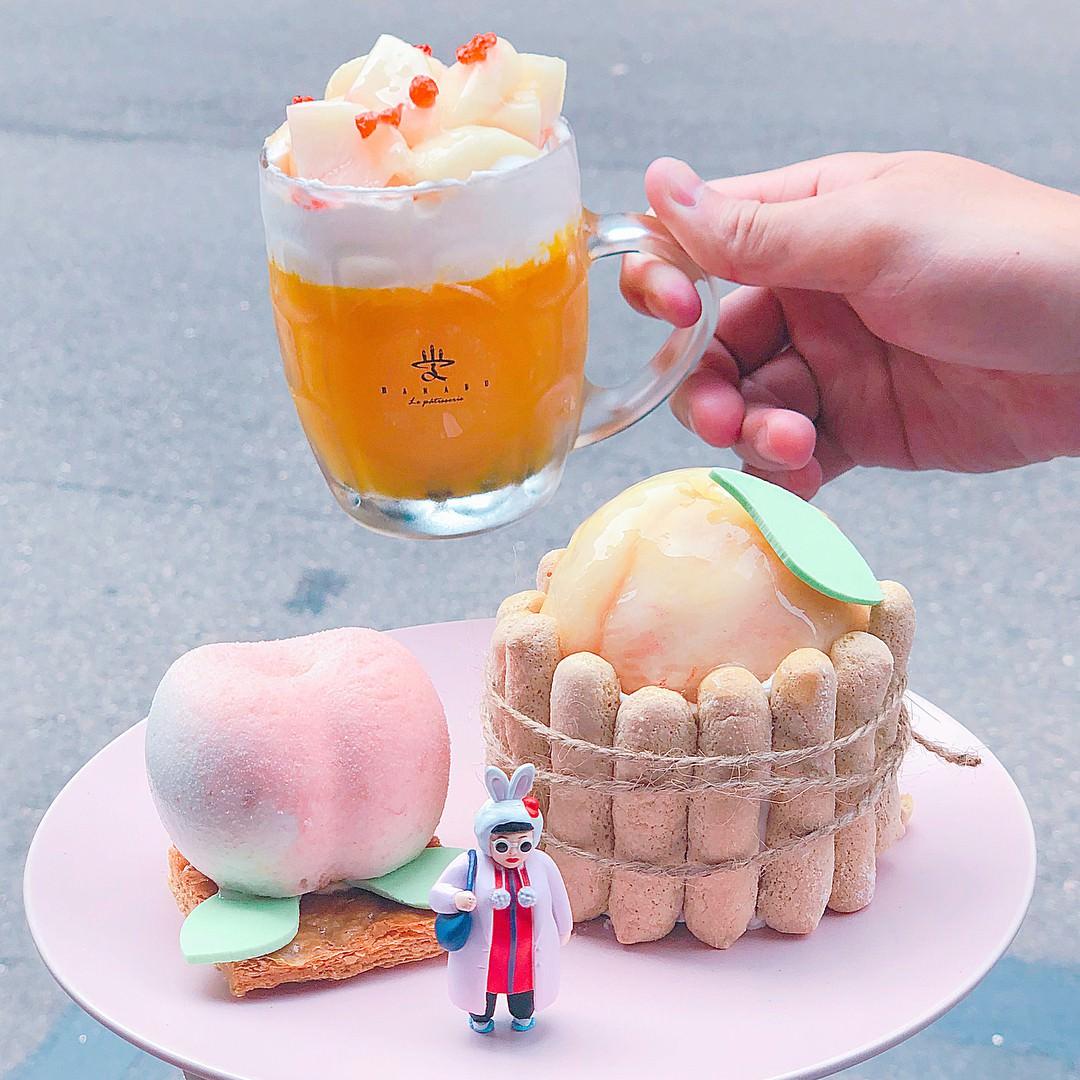 夏日限定!忍不住想要咬一口蜜桃臀~5大主打水蜜桃的粉紅系甜點 - Yahoo奇摩旅遊