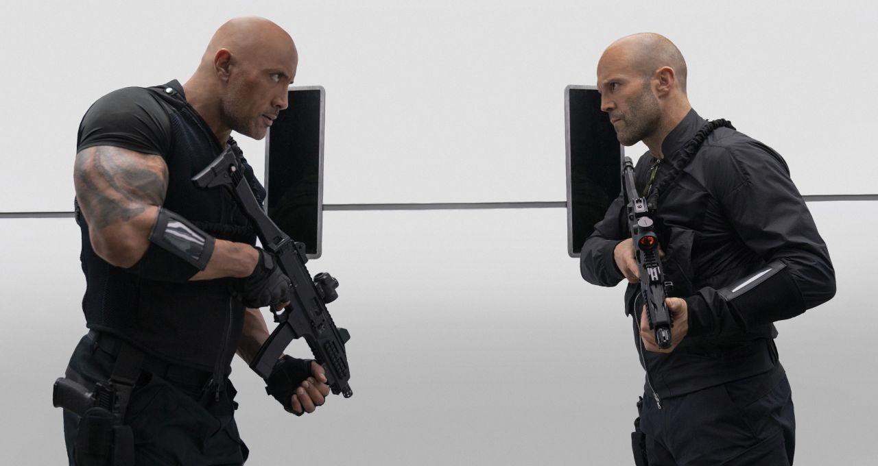 《玩命關頭:特別行動》巨石強森聯手傑森史塔森互尬拳腳 卯勁使出渾身解數 - Yahoo奇摩電影