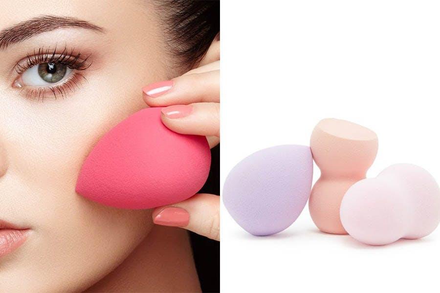 懶人服貼底妝來顆美妝蛋就對了~底妝想服貼除了挑選合適粉底液。上妝工具也很重要。你用哪一種?|上妝 ...