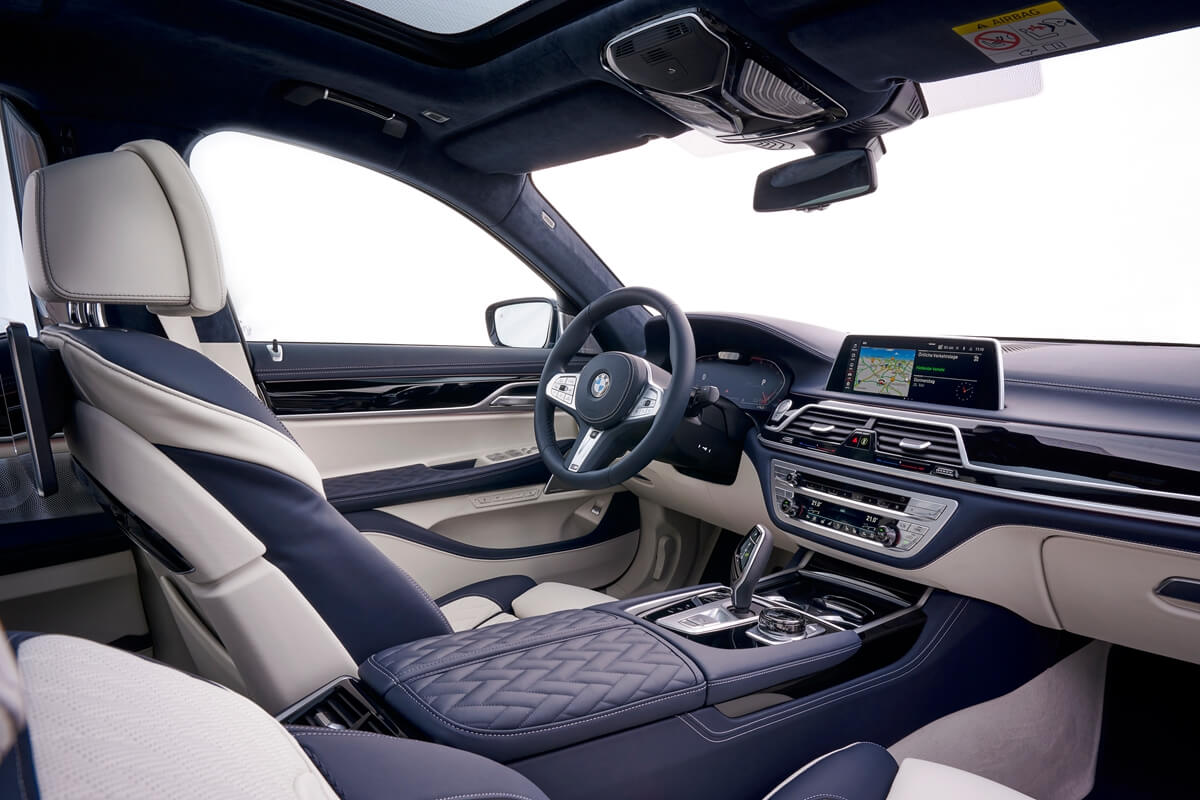 BMW新年式七系列除了有48V輕度混合六缸動力 還提供新版本後輪轉向的選配 - Yahoo奇摩汽車機車