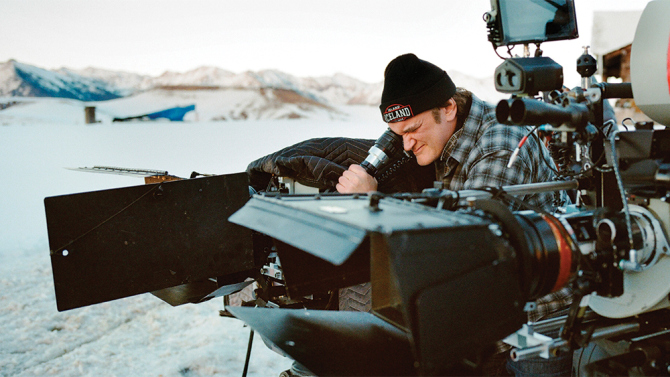 Image result for quentin tarantino directing