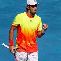 Fernando Verdasco inflicted Rafael Nadal's first defeat of the clay-court season to dump the world number two out of the Madrid Masters.