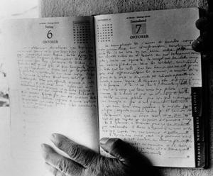 Fragmentos del diario del Che Guevara (AP Images)