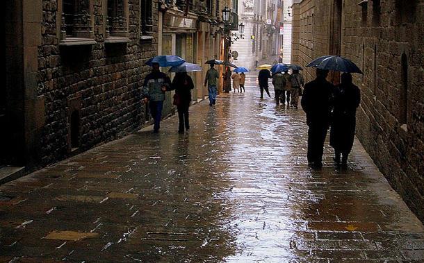 Una postal de la inspiración de Skliar: Barcelona, en medio de su cotidianeidad (Flickr - Trent Strohm)