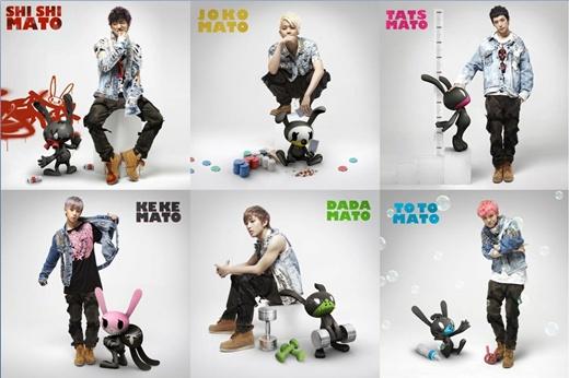 【★明星寫真】韓男團BAP卡通機器人角色寫真 各具魅力可愛無比 - Yahoo奇摩新聞