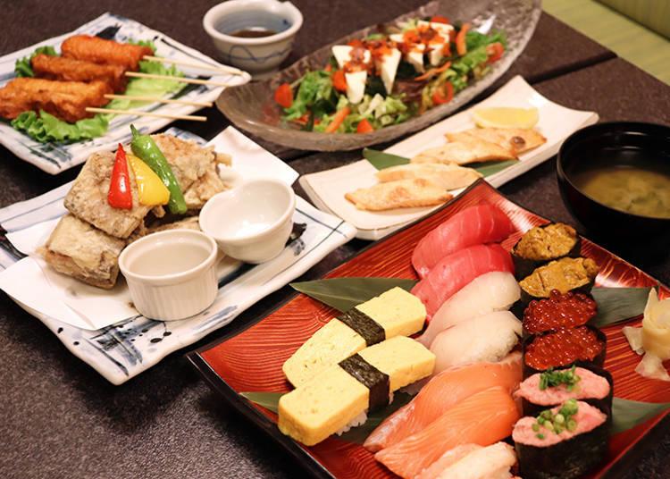 新宿吃到飽只要3000日圓?「絆魚壽司」80種壽司任你吃! - Yahoo奇摩旅遊